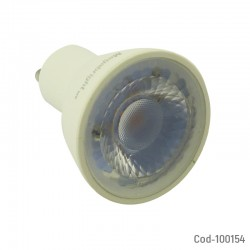 Ampolleta LED Megabright GU10 6.5Watt, Luz Calida 3000K. En Caja