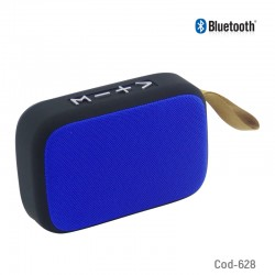 Parlante Bluetooth Con FM-USB-TF, Recargable.