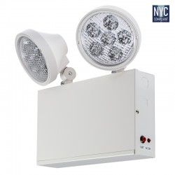 Lámpara de Emergencia Doble Foco LED 2x1.5W