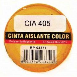 Cinta Aislante Color 0.15X18Mm X5Y