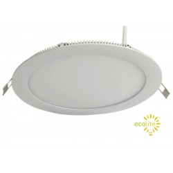 Panel Led Redondo embutido 6W - Fría