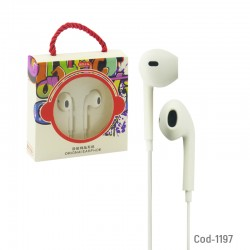 Audifono Con Microfono In Ear Colores