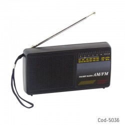 Radio AM-FM Mini Pulsation, KW-8068, USA, Pilas En Caja